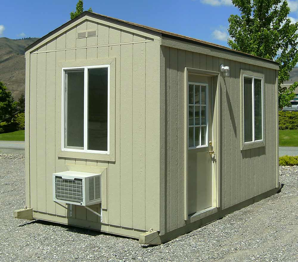 Portable mobile office buildings rentals in wa for Portable shed office